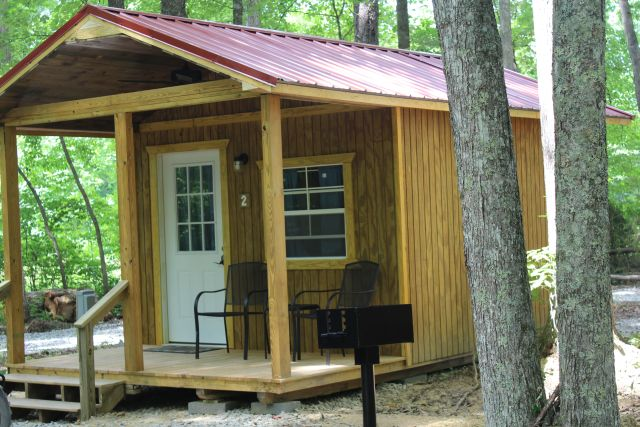 Cozy Cabins  at Falls Creek Cabins and Campgrounds