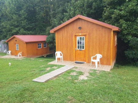Super Cozy Cabins  at Falls Creek Cabins and Campgrounds